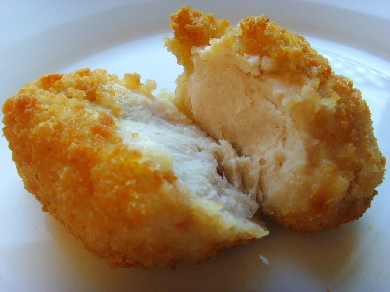 Only Half of A Chicken Nugget Is Made of Chicken Meat