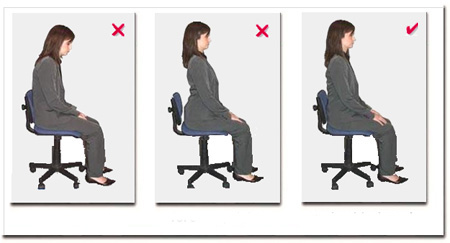 Five signs that you don t sit in a correct position on your office chair - What is the meaning of back office ...