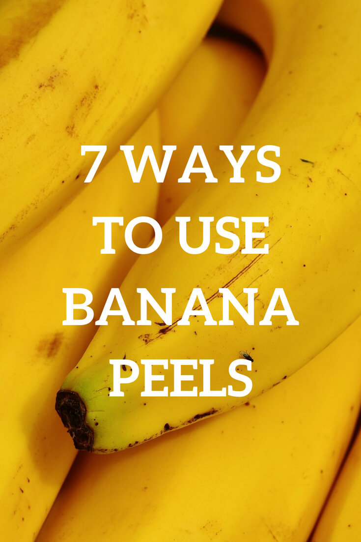Seven ways to use banana peels