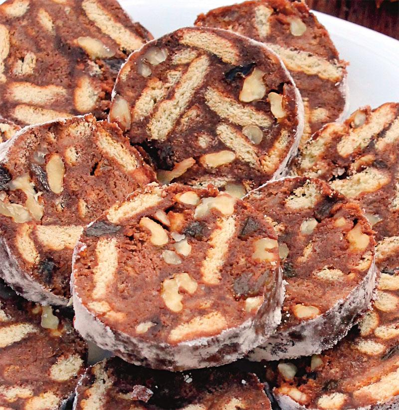 Biscuit salami