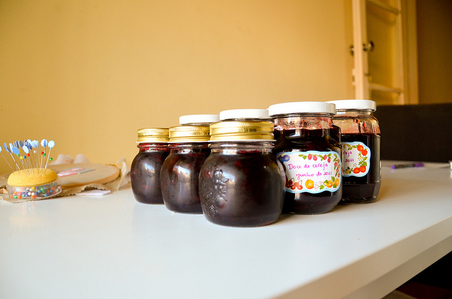 Bitter cherry jam recipe