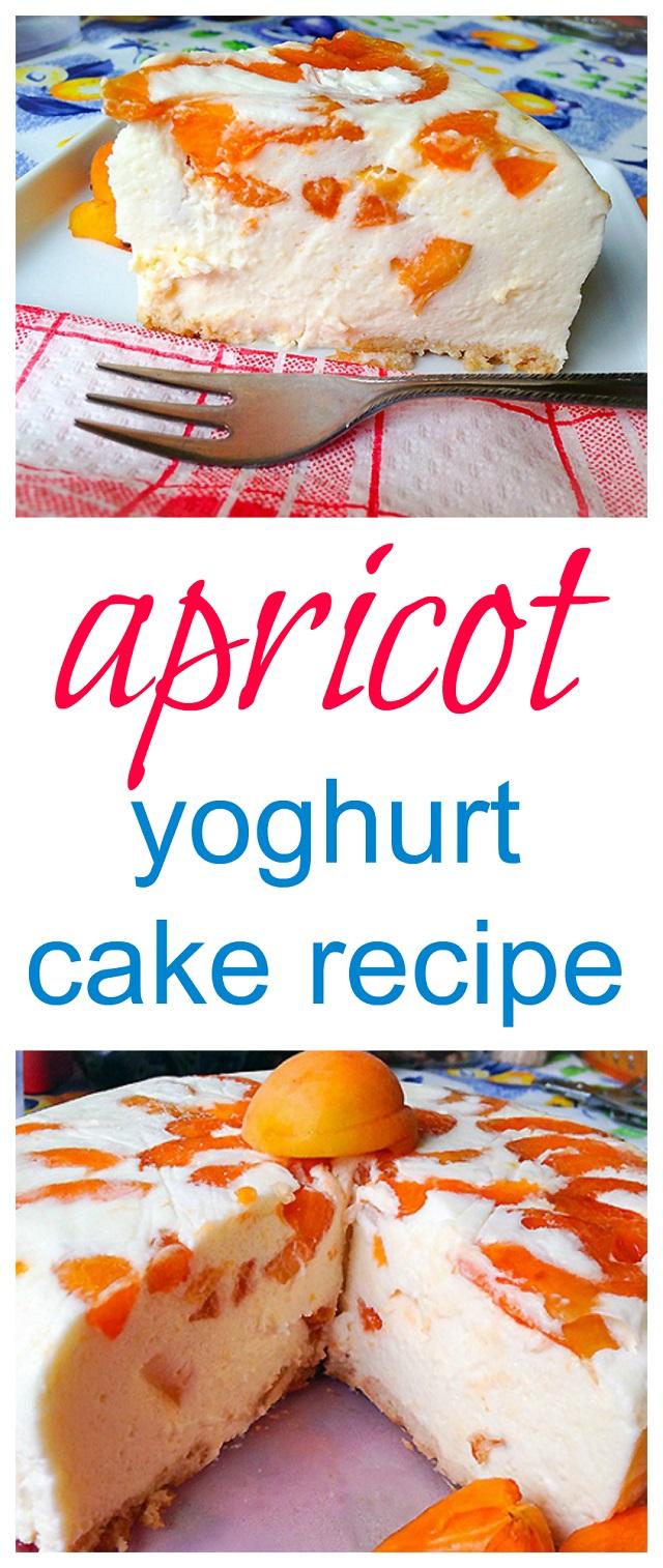 Apricot yoghurt cake recipe
