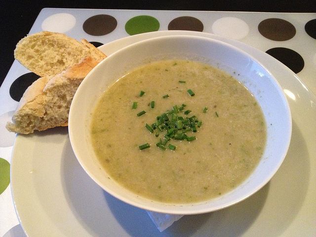 Lettuce soup, a delicious summer specialty