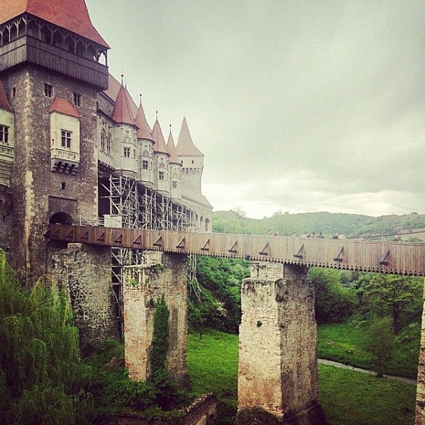 The walls of the Castle of Hunedoara, witness of dark secrets!