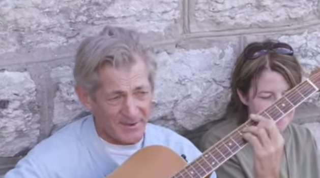 The 62 year old homeless man had been ignored all his life until the world heard his voice