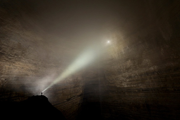 Cave system in China has its own climate