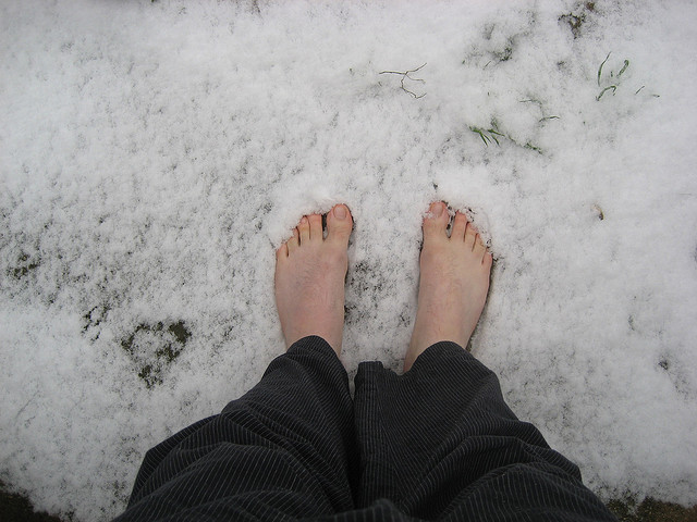 A free winter medicine - how to take advantage of the healing qualities of snow