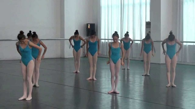 14 dancers take their position... What happens afterwards is simply spectacular!