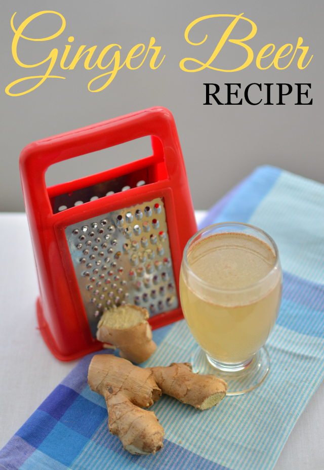 Natural healing - Ginger Beer Recipe