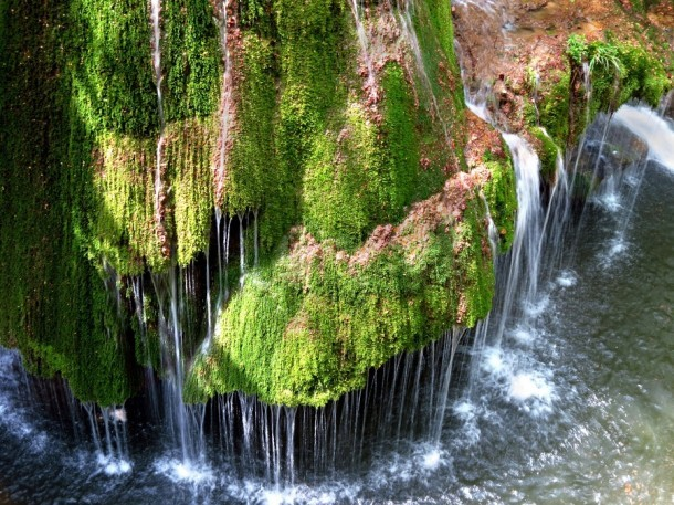A waterfall claimed to be the most special in the world