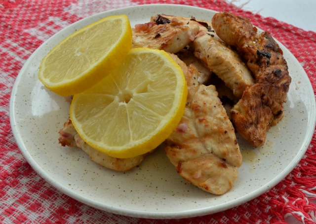 Citrus spicy chicken recipe