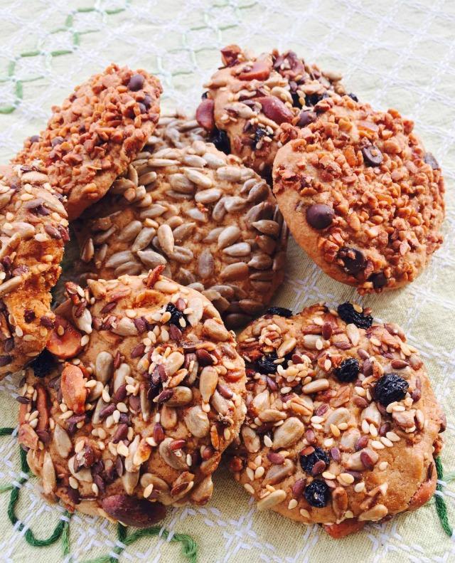Multi-seed cookies recipe