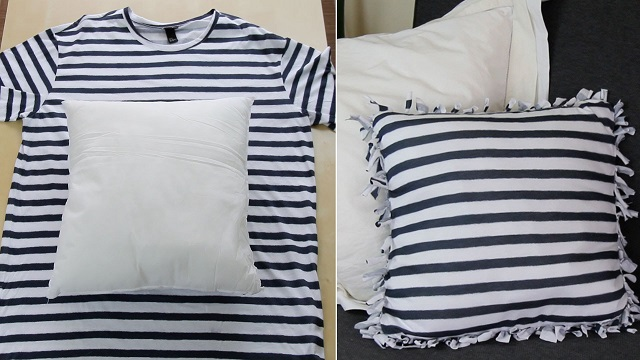 Three unique and creative ideas for reusing old T-shirts