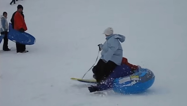 The craziest ideas for sledding – a must-watch compilation!