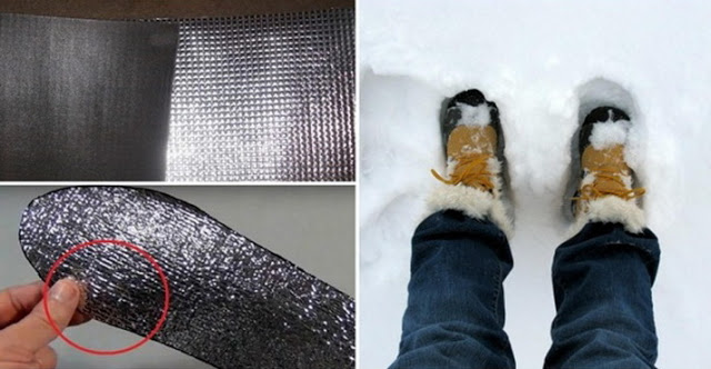 Use this trick to have warm feet in winter!