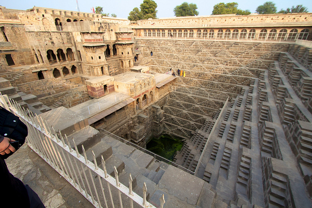 Seven wonders of the world you might have not heard about yet - Chand Baori (India)