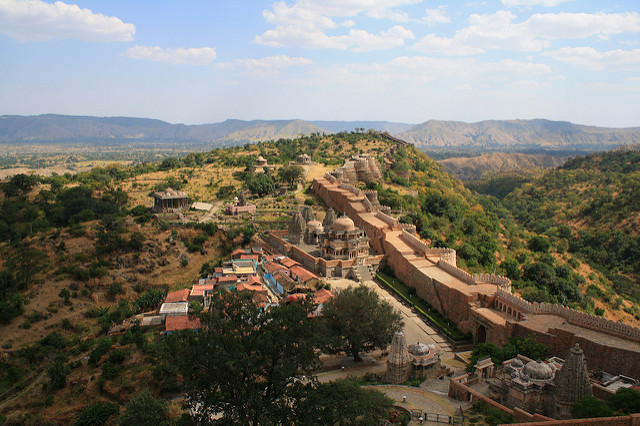 Seven wonders of the world you might have not heard about yet - Fort Kumbhalgarh, India