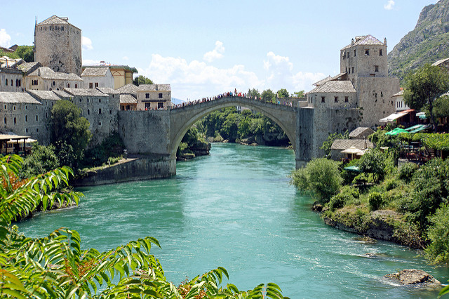 Seven wonders of the world you might have not heard about yet - Stari Most (Old Bridge) in Bosnia and Herzegovina