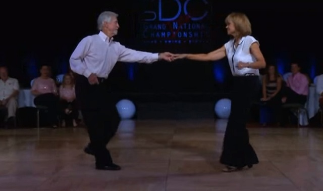 They have been dancing together for more than 35 years - you'll love them when you see them!