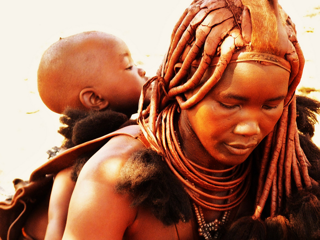 The amazing beauty routines of women of the Himba tribe