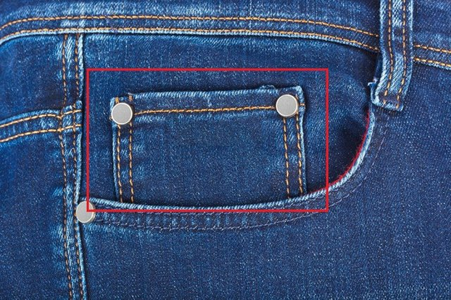 Do you have any idea about the original use of the small pocket on jeans?