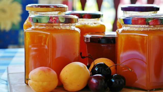 Apricot jam without preservatives