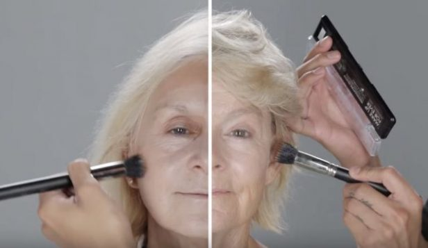 Two women over 65 ask for the services of a professional makeup artist. The result is exceptional!