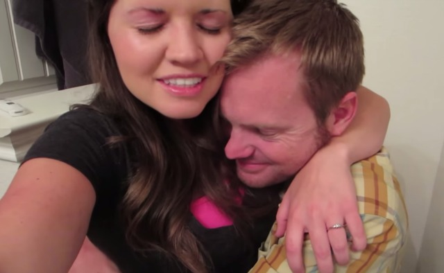 This couple goes crazy when they find out they will have a third child