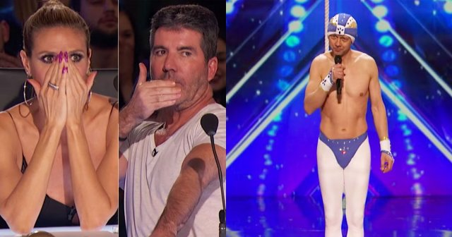 A 52-year-old Estonian contortionist in America's Got Talent - watch the fantastic performance
