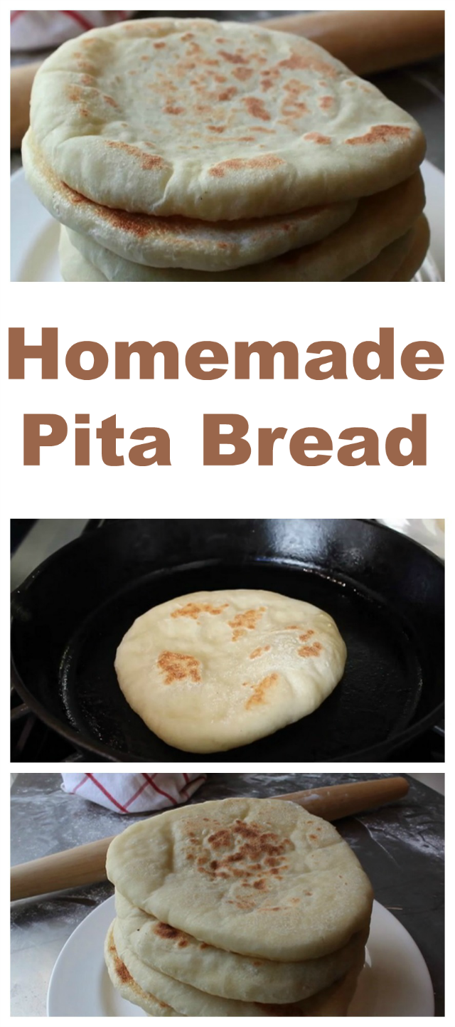 Homemade pita bread, the simplest way!