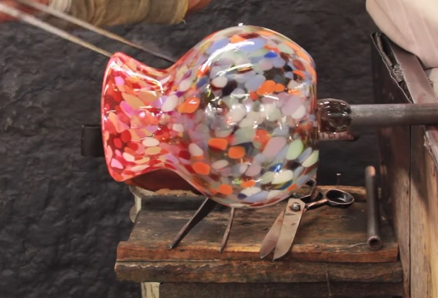 Most broken glass ends up in the landfill. However there are two people who make wonderful creations using broken glass