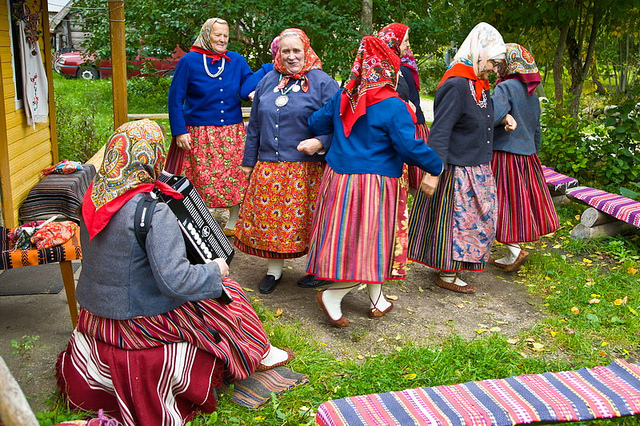 Kihnu, an island ruled by happy women