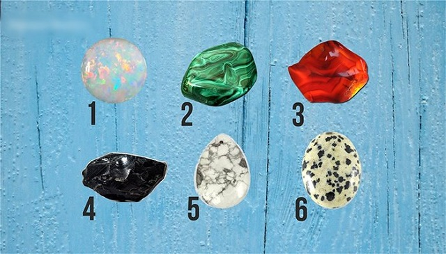 Choose a stone and see what it reveals about you