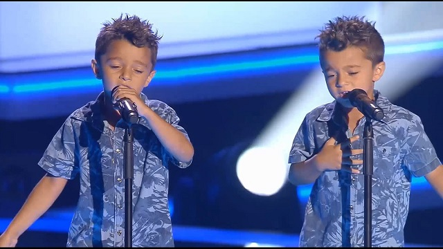 Two brothers, one singing voice. What they did on the stage floored the members of the jury