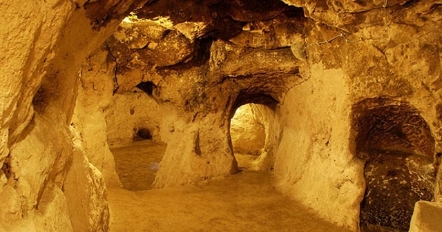 During the renovation of his house, he discovered a secret tunnel to a giant underground city!