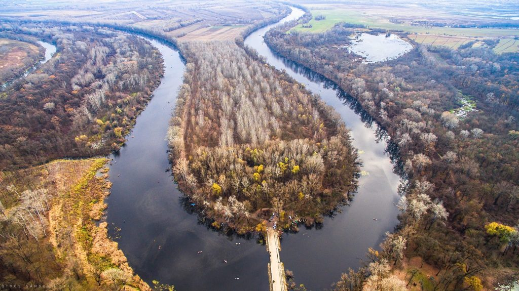 Amazing aerial photographs of the beautiful area of ​​Tőserdő, Hungary