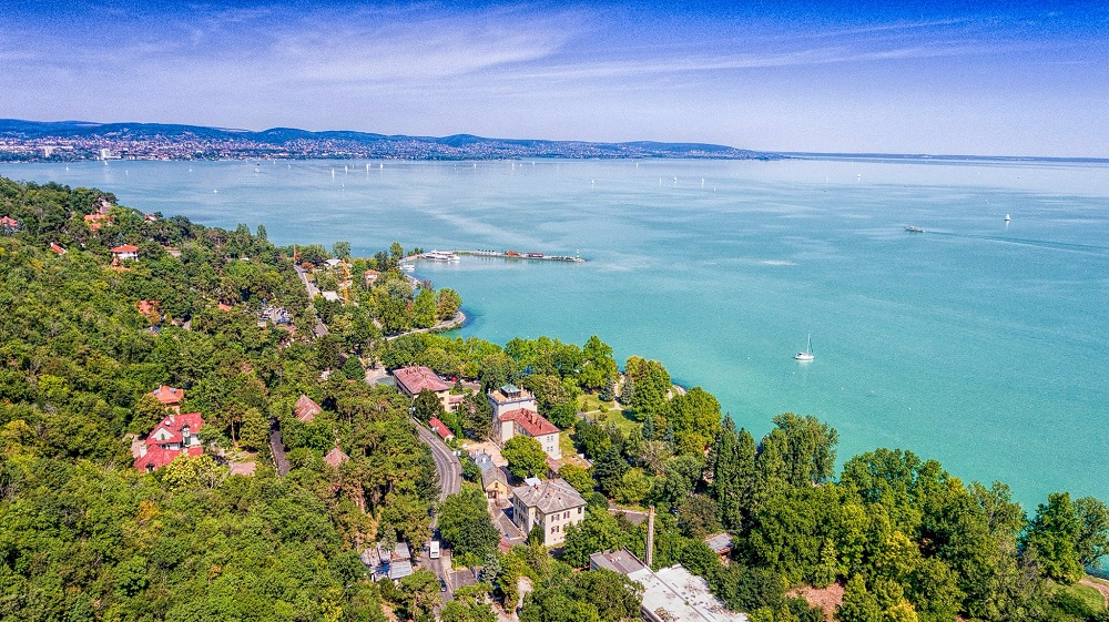An amazing drone video was recorded about Lake Balaton and its surroundings