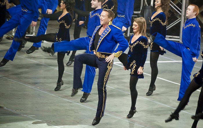 The king of Irish dance amazes us with incredible performances