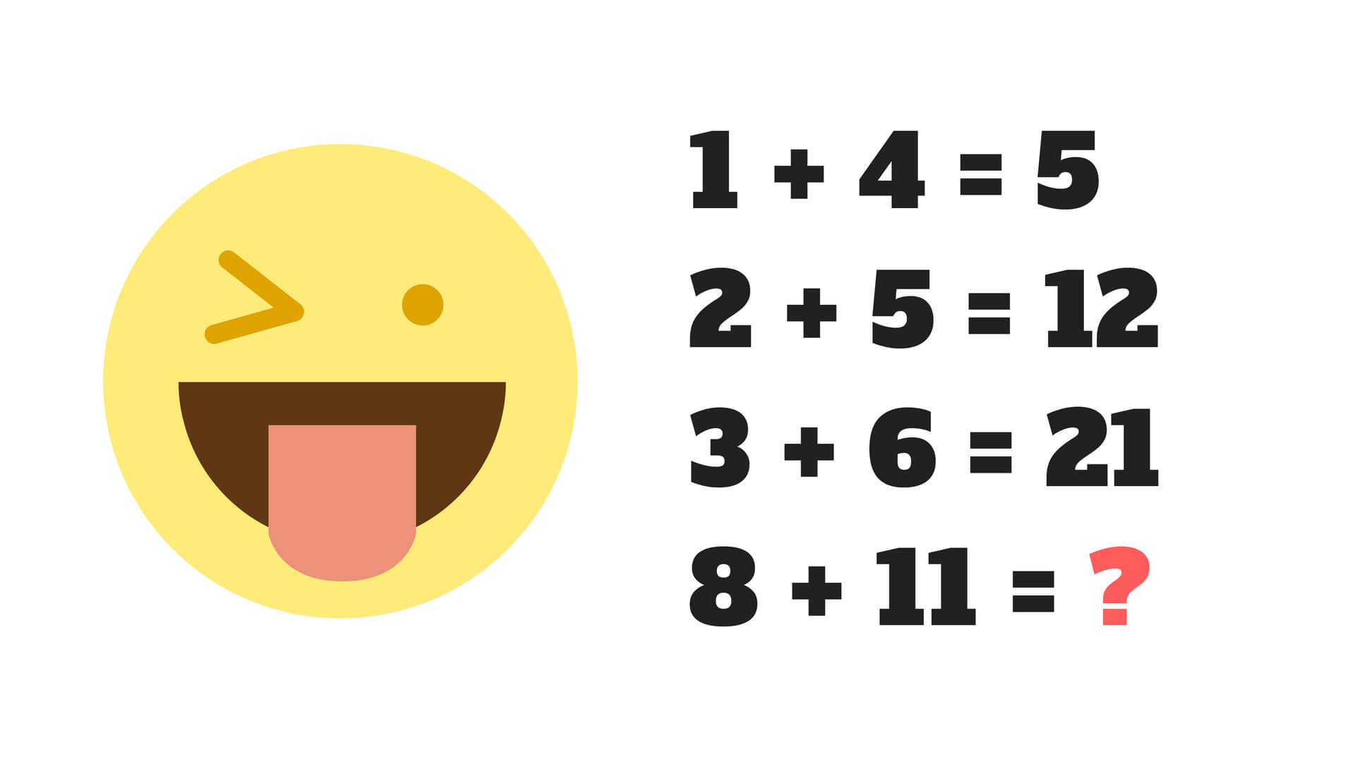 Only people with high IQ can solve this test