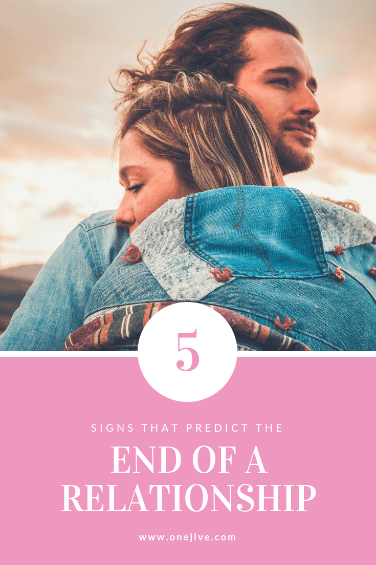 5 signs that predict the end of a relationship