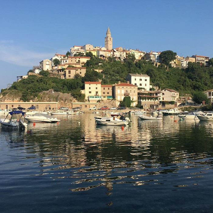Vrbnik - an idyllic Croatian town with the narrowest street in the world